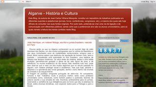 Blog Algarve História e Cultura - prof. Vilhena Mesquita