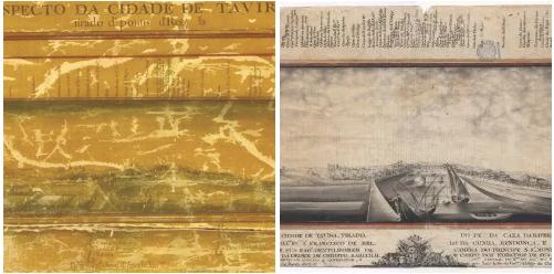 As duas versões do 'Prospecto de Tavira' (1780 e 1797)